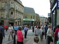 Inverness shopping precinct