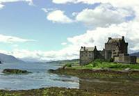 loch ness cottage-Eilean Donan Castle in the Highlands of Scotland